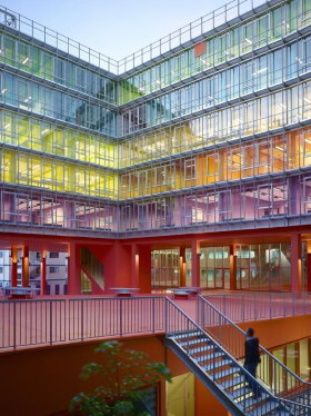 Atrium of Jussieu campus