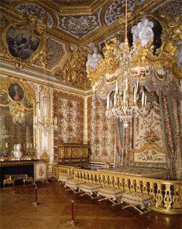 The Queen's bedroom in Versailles