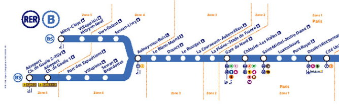 Paris Subway Map Zone 2018.Paris Nord Villepinte Exhibition Center Address Metro Map